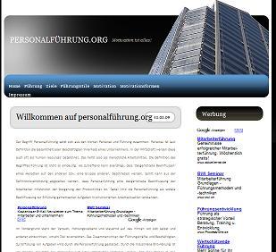 Internetseite www.personalführung.org