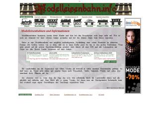 Viele Informationen zum Thema Modelleisenbahn