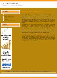 Goldpreise.eu Screenshot
